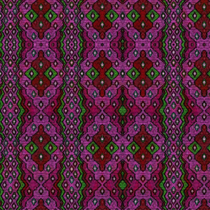 ikat sketch cherry princess