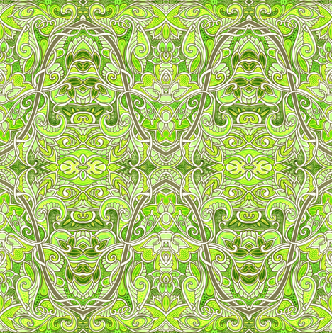 Sure Sines of Spring fabric by edsel2084 on Spoonflower - custom fabric