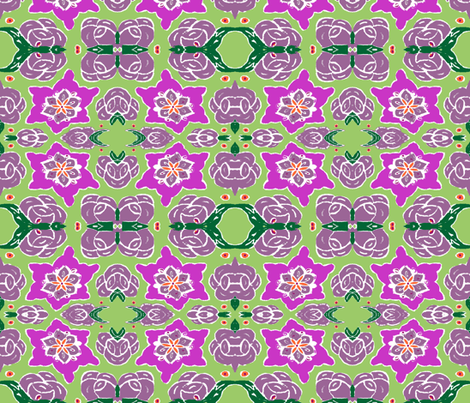 Gypsy Luck fabric by susaninparis on Spoonflower - custom fabric