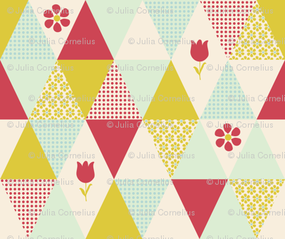 triangles_flowers_cheater_quilt
