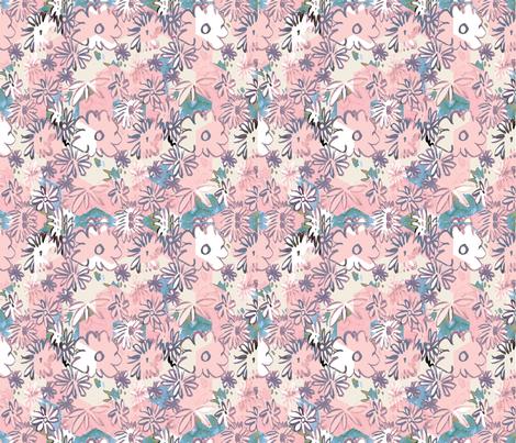 cestlaviv_spring powder hex cheater fabric by cest_la_viv on Spoonflower - custom fabric