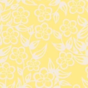 Fat Quartet Mint, Blue, Beige and Yellow