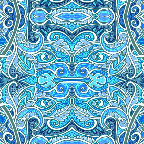 When We See the Sea fabric by edsel2084 on Spoonflower - custom fabric