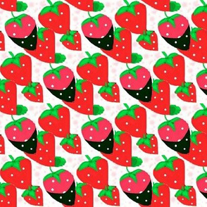 standing strawberries 2