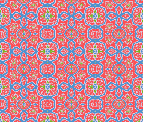 Holding My Own fabric by susaninparis on Spoonflower - custom fabric