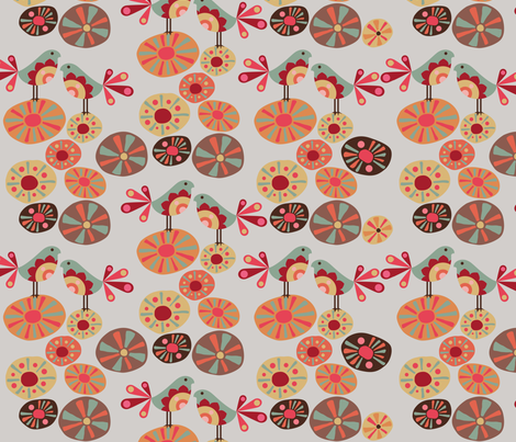 Sofia fabric by valentinaharper on Spoonflower - custom fabric