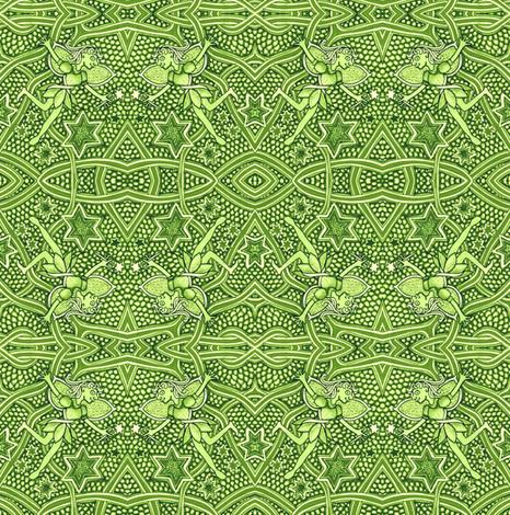 Curse You Magic Fairy fabric by edsel2084 on Spoonflower - custom fabric