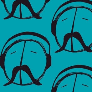 Must-ache for Peace teal