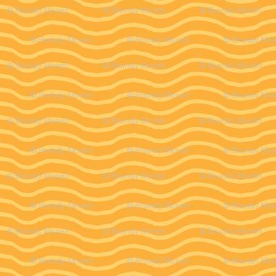 Tangerine Waves (Juicy fruit series)