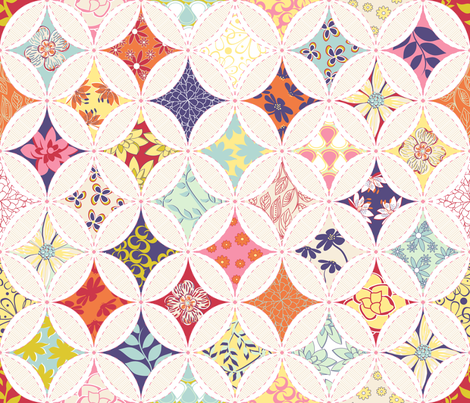 Spring Cathedral by Angel Gerardo fabric by angelger28 on Spoonflower - custom fabric