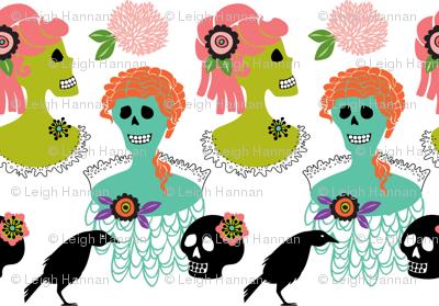 victorian skulls 1