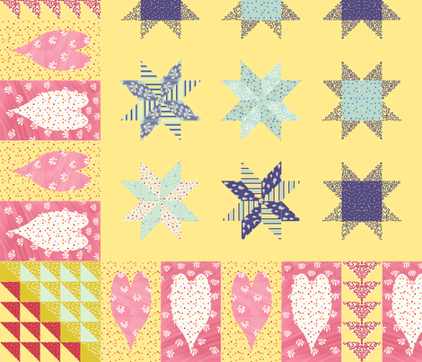 Spring fabric by cison on Spoonflower - custom fabric