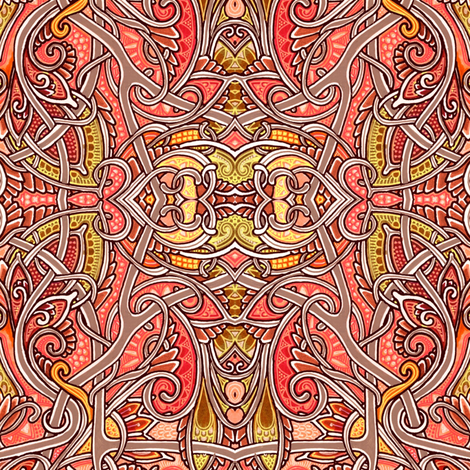Knot My Problem fabric by edsel2084 on Spoonflower - custom fabric