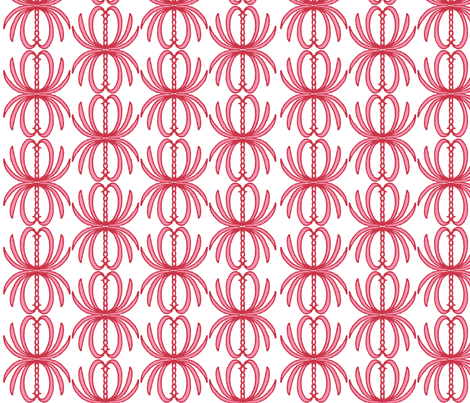 Lotus fabric by clairekalinadesigns on Spoonflower - custom fabric