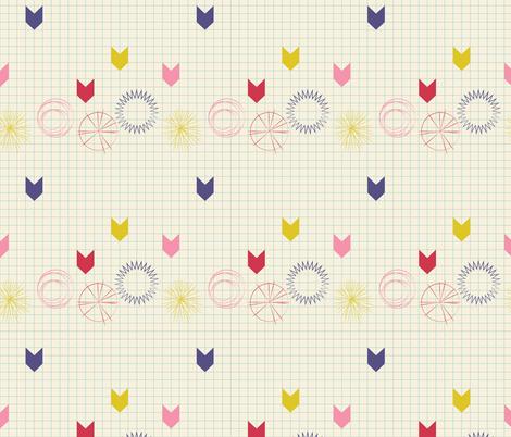 Sketchbook fabric by otterspiel on Spoonflower - custom fabric