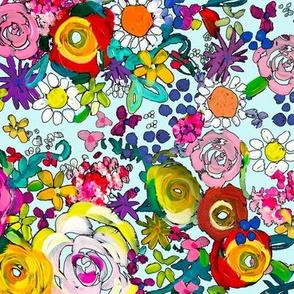 Les Fleurs // Light Mint