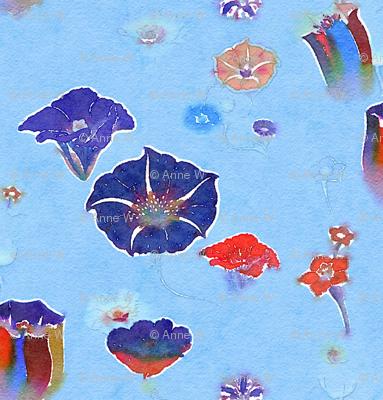 Watercolor nightshades