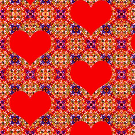 20_Hearts fabric by phosfene on Spoonflower - custom fabric