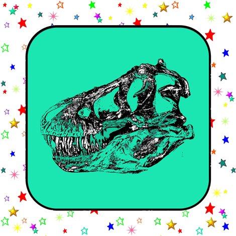 Quilt_block_stars_t_rex_skull_aqua_shop_preview