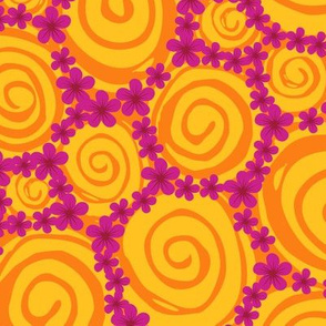 Swirly blossoms (floral candy)