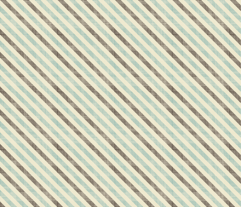 Dad's tie (dusty blues) fabric by kittenstitches on Spoonflower - custom fabric