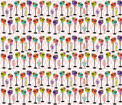 window display fabric by skellychic on Spoonflower - custom fabric