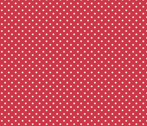 Spring_Cheater Quilt Red___White_Polka_Dots fabric by lana_gordon_rast_ on Spoonflower - custom fabric