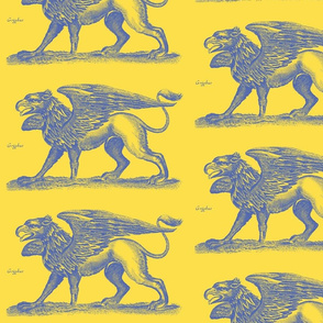 Griffin Blue and Yellow