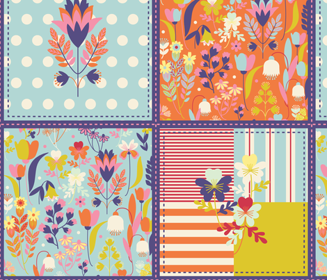 spring fabric by bylina on Spoonflower - custom fabric