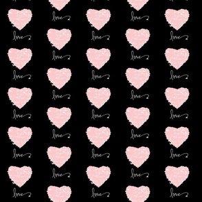 Hearts of French Script