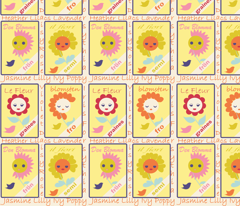 Seed Quilt fabric by kiwicuties on Spoonflower - custom fabric