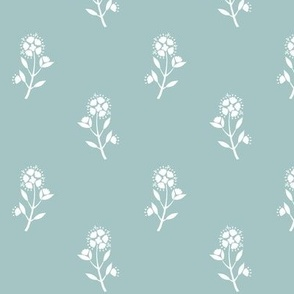 Regency Floral French Blue