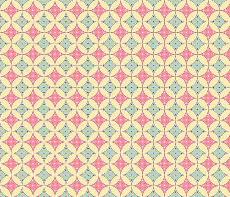 Spring_Windows fabric by flyingmermaid on Spoonflower - custom fabric