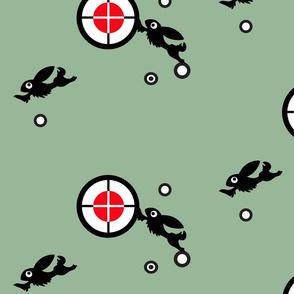 target bunny green