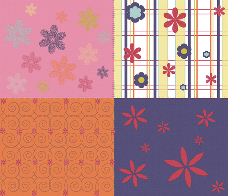 quilt fabric by erijoyjoy on Spoonflower - custom fabric