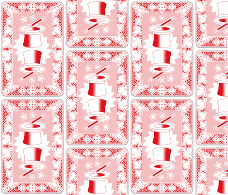 Pick one card fabric by analinea on Spoonflower - custom fabric