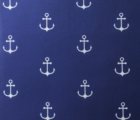Anchor Cobalt Blue