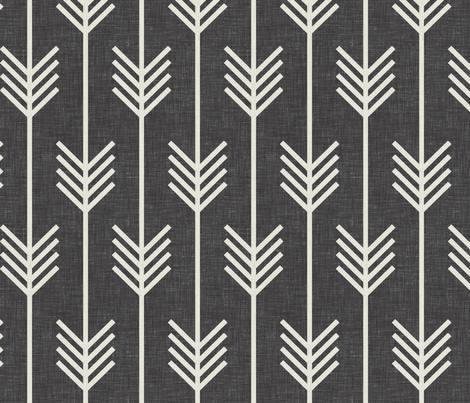 arrows_dark_textured fabric by holli_zollinger on Spoonflower - custom fabric
