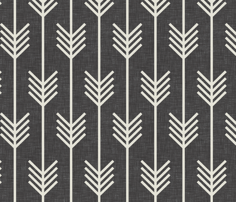 arrows_dark_textured fabric by holli_zollinger on Spoonflower - custom fabric