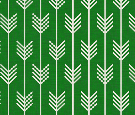 arrows_emerald fabric by holli_zollinger on Spoonflower - custom fabric