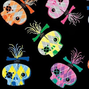 Abby Skull Confetti