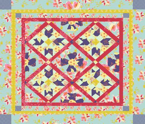 SarahCrystalQuilt fabric by sarahcrystal on Spoonflower - custom fabric