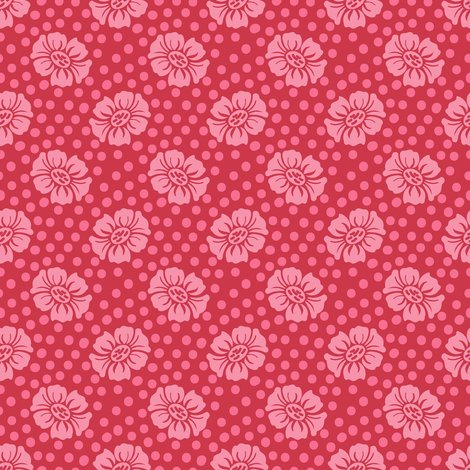 Rdotty_flowers_red_pink_pink_shop_preview
