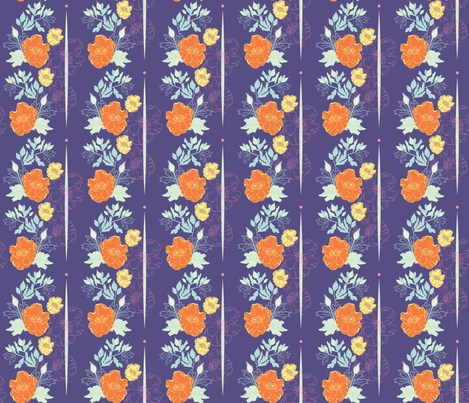 Spring Cheater Quilt Base fabric by sarah_nussbaumer on Spoonflower - custom fabric