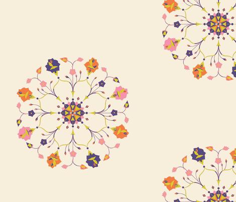 mkfloralpattern-ed-ch fabric by texashandbasket on Spoonflower - custom fabric