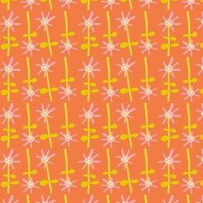 daisy dot (orange)