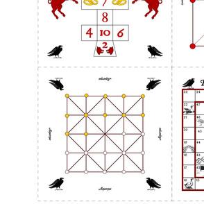 7 Medieval Board Games
