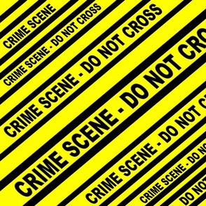 CRIME SCENE YELLOW TAPED