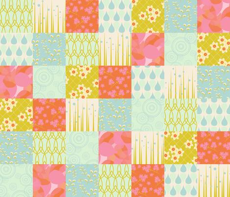April Showers fabric by katherinelenius on Spoonflower - custom fabric