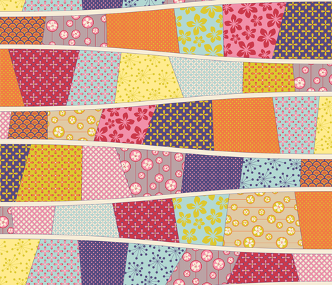 Julie is a cheater Quilter 1 fabric by juliesfabrics on Spoonflower - custom fabric
